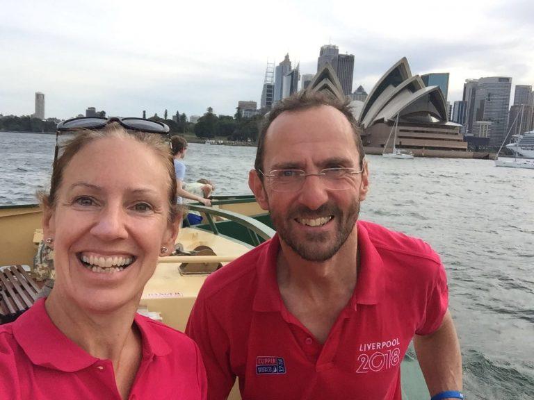 Bronwen & John Vearncombe in Sydney